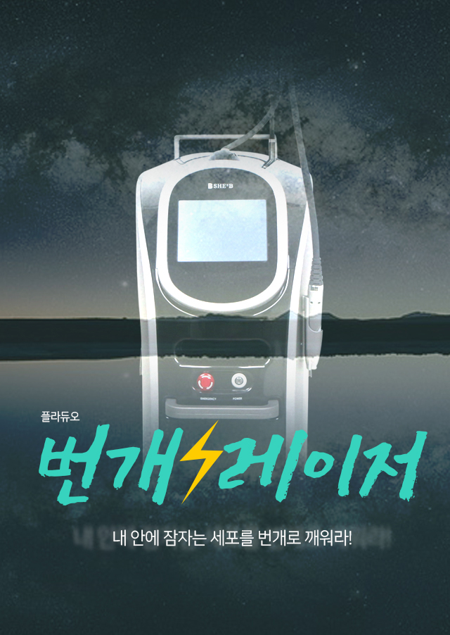 번개레이저 플라듀오